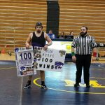 Tyler Moore Wins His 100th Match!