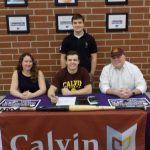 Zack Ludwig Commits to Calvin College!