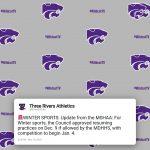 Athletics: Winter Sports Update – Nov. 18