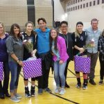 Volleyball: Senior Night win over Plainwell