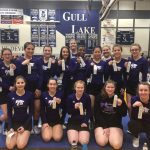 Competitive Cheer: Cats 3rd at Gull Lake Invitational