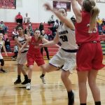 Girls Basketball District: Three Rivers 56 Vicksburg 31; Cats advance to semifinals on Wednesday