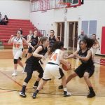 Girls Basketball District: Three Rivers 50 Dowagiac 5; Cats advance to District Finals on Friday
