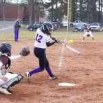Softball: Cats split with Portage Northern