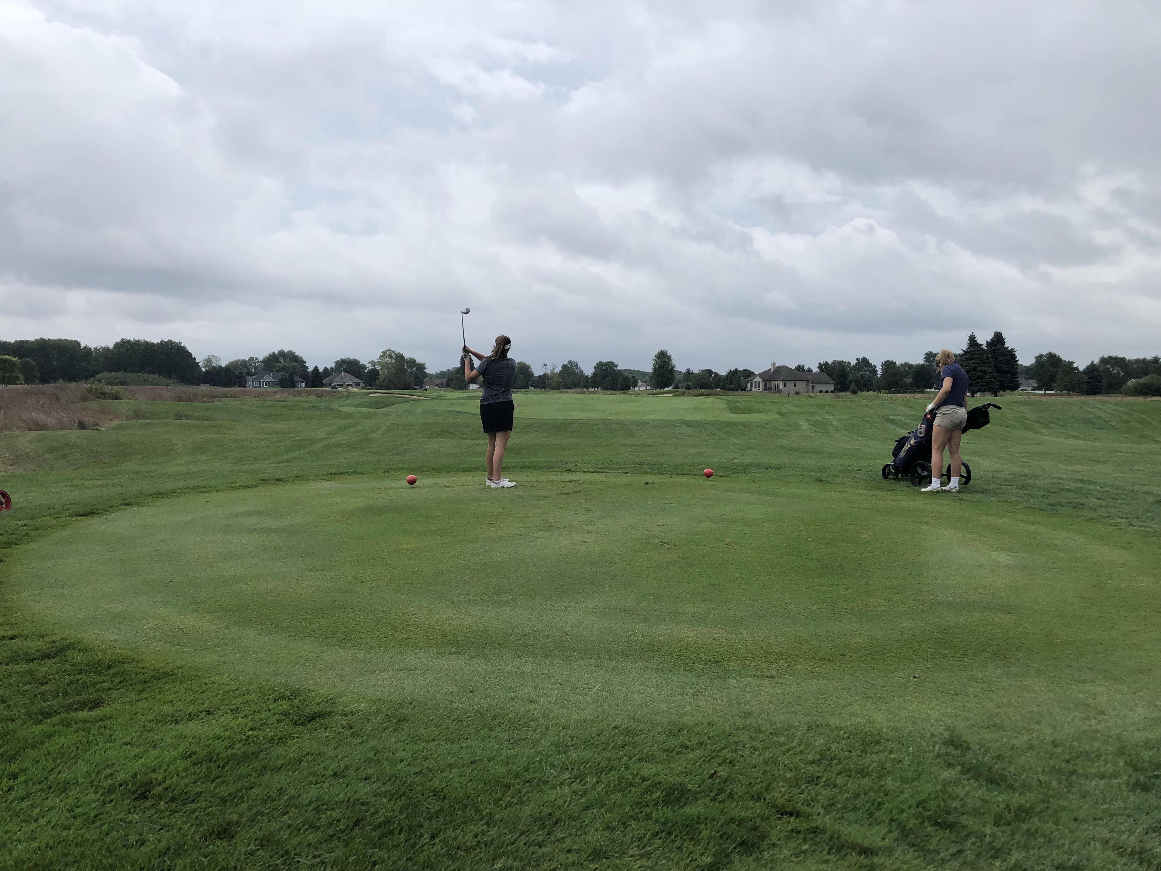 Girls Golf: Cats 5th at Sturgis Invitational