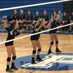 Volleyball: Cats win in three sets at Plainwell