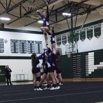 Competitive Cheer: Cats 3rd at Wayland Invite