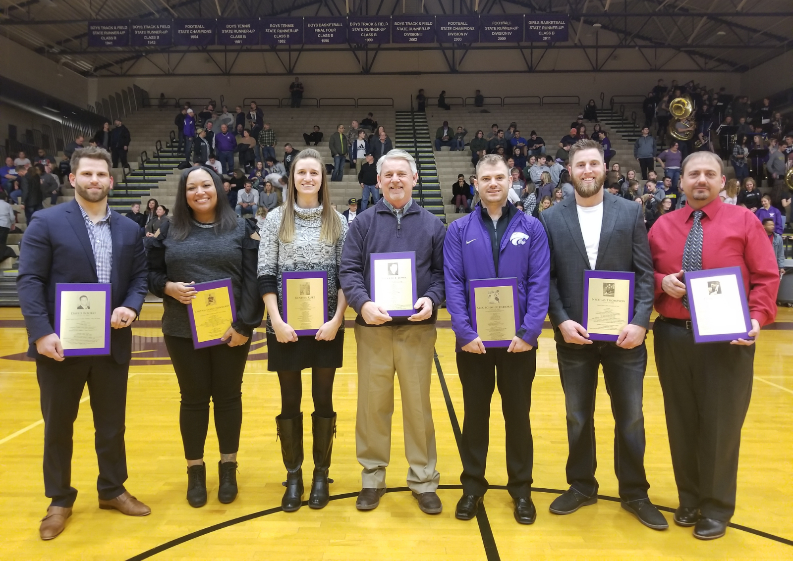 Athletic Hall of Fame Class of 2019 Honored