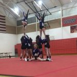 Competitive Cheer: Cats 8th at Conference Finals