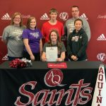 Cheerleading: Guthrie signs with Aquinas College