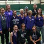 Girls Tennis: Cats 2nd at Brandywine Indoor Tournament