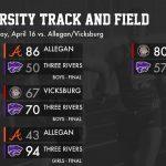 Track & Field: Cats host Allegan, Vicksburg