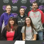 Softball: Barnes signs with Olivet