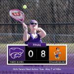 Girls Tennis: Cats fall to Eddies