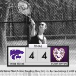 Girls Tennis: Cats tie at South Haven