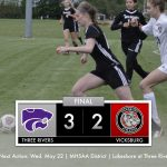 Girls Soccer: Three Rivers 3 Vicksburg 2