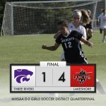 Girls Soccer District: Lakeshore 4 Three Rivers 1