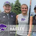 Track & Field: Haifley breaks school record at State Finals