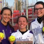 Softball: Brady, Sternbergh, Barnes named Academic All-State