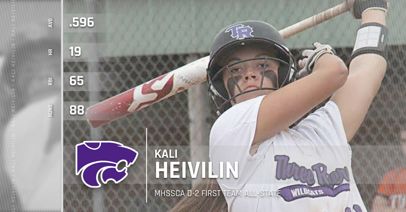 Softball: Heivilin named First Team All-State