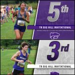 Cross Country: Boys 3rd, Girls 5th at TR Big Hill Invite