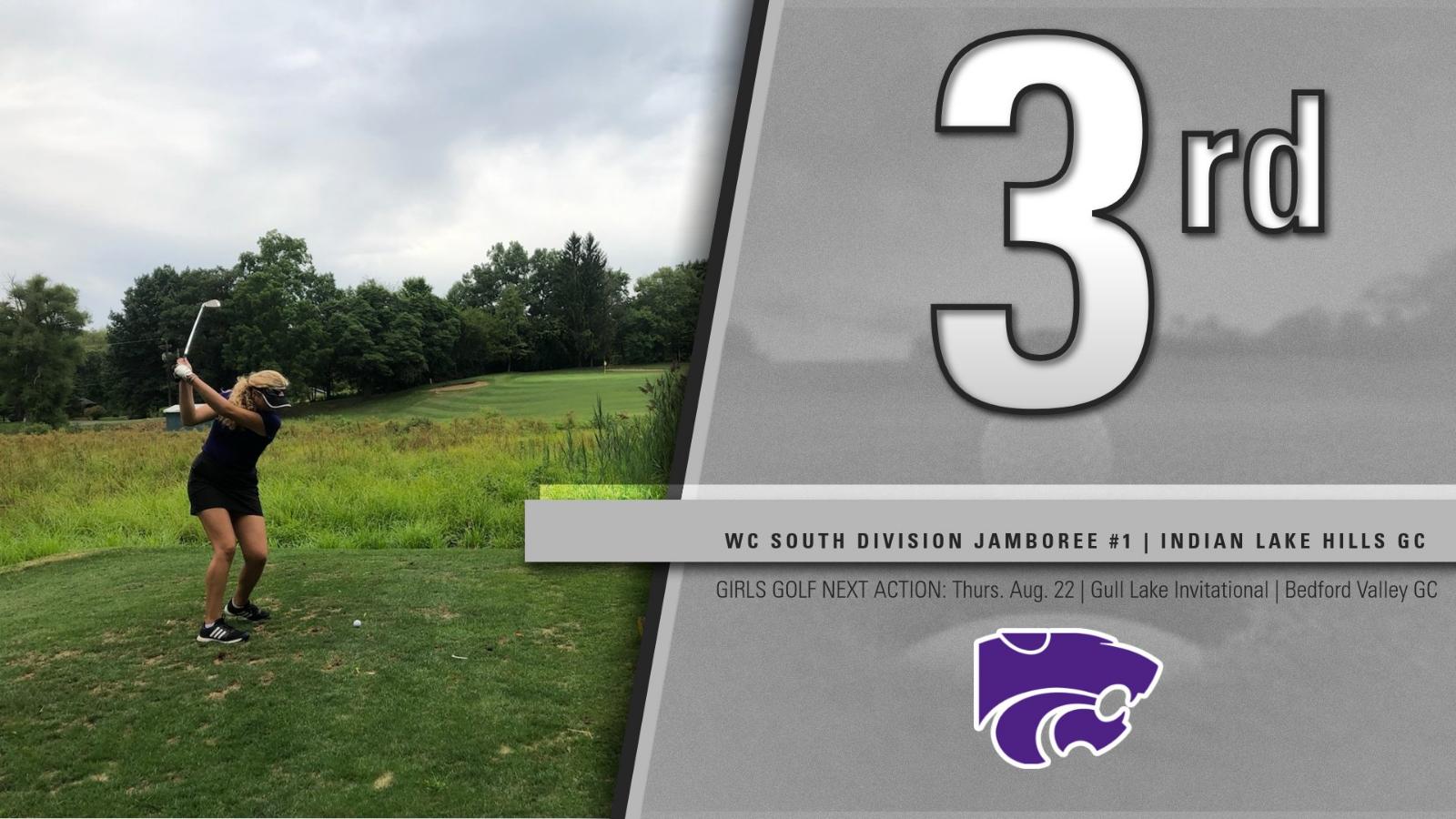 Girls Golf: Cats 3rd at South Divisional Jamboree #1