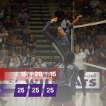 Volleyball: Cats open conference slate with win