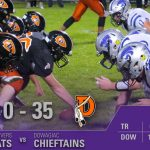 Football: Cats downed by Chieftains