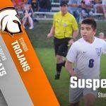 Boys Soccer: Sturgis game suspended