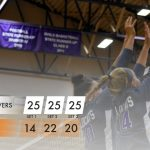 Volleyball: Cats win in three over Trojans