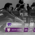 Volleyball: Cats rally for five set win at South Haven