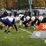 Football: Cats end season with wild win at Allegan