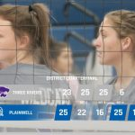 Volleyball: Cats season ends in five set district loss