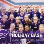 Competitive Cheer: Cats 2nd at Gobles Holiday Bash