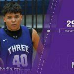 Boys Basketball: Moore breaks school rebounding record