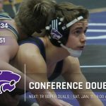Wrestling: Cats fall twice in conference duals