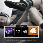 Wrestling: Cats fall to Trojans