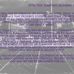 District Policy Change: Effective starting Monday, Feb. 3