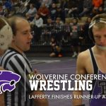 Wrestling: Lafferty runner-up at Conference Finals