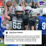 Middle School Football coming next fall!