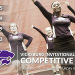 Competitive Cheer: Cats finish regular season at Vicksburg Invitational