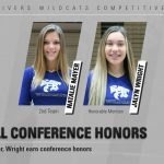 Competitive Cheer: Mayer, Wright named All-Conference