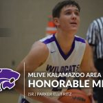 Boys Basketball: Ellifritz named Honorable Mention Mlive Kalamazoo Area