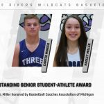 Basketball: Minger, Miller named Outstanding Senior Student-Athletes