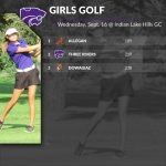 Girls Golf: Cats 2nd at Conference Tri