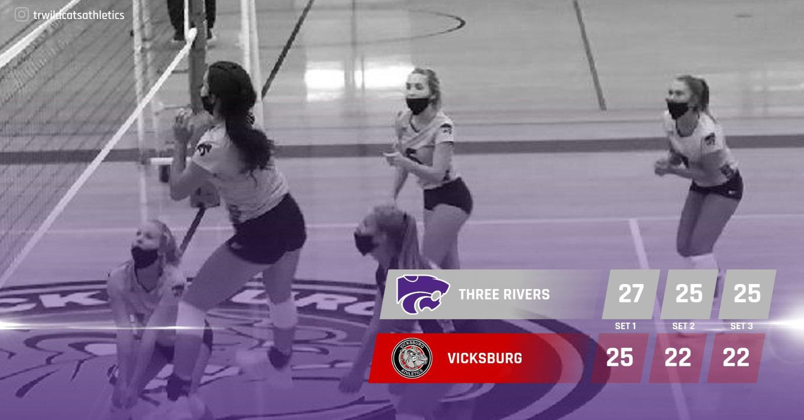 Volleyball: Cats win at Vicksburg