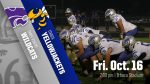 Football: Schedule Change for Oct. 16