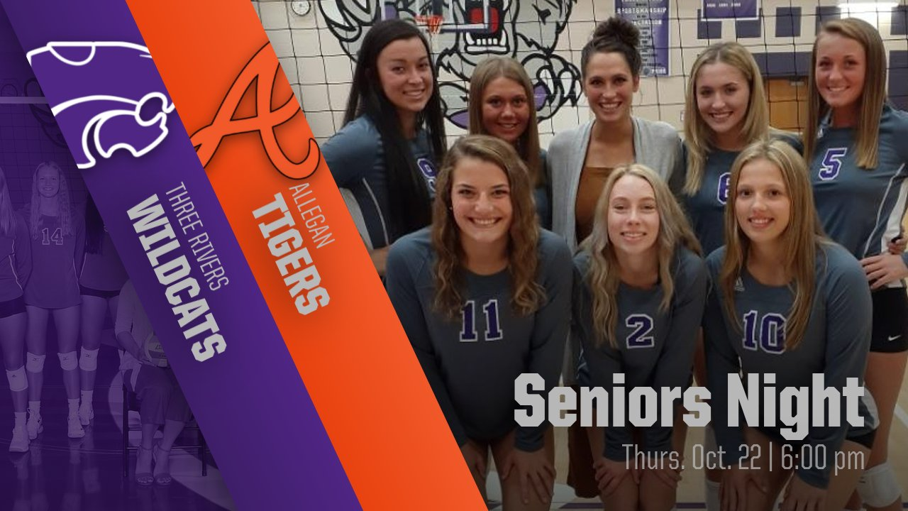 Volleyball: Tickets available for Seniors Night