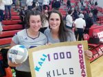 Volleyball: Heivilin reaches 1,000 career kills in win tonight