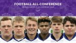 Football: Six Cats Named All-Conference